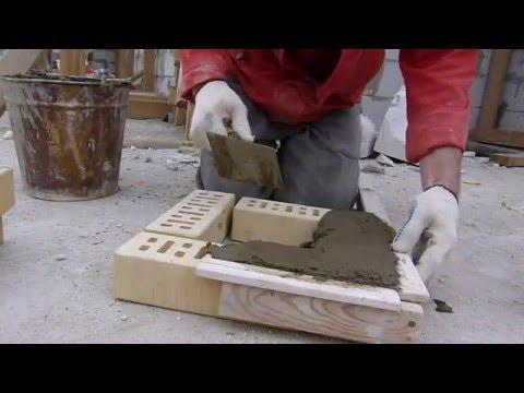 кладка кирпича.спец чудо рейка для кладки столбов.быстро чисто удобно Nivok111