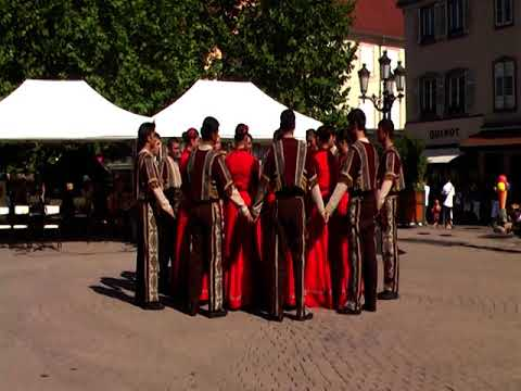 Танцуют Армяне во франции!!! Часть2 19 августа 2009.