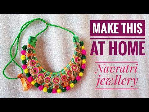 Navratri jewellery | handmade jewellery | modern jewllery  | GIFT AND ART