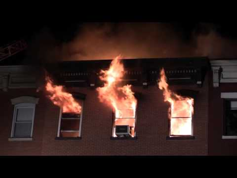 Hoboken NJ Fire Department 4th Alarm Fire 507 Washington St Sat Feb 13th 2016