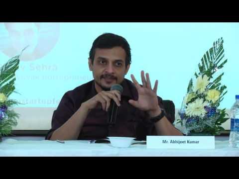 Mumbai Start-Up Fest Panel 2: Fund Management For Startups
