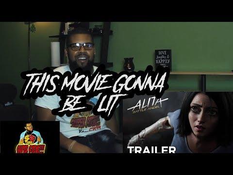 Alita: Battle Angel   Official Trailer [HD]   20th Century FOX( Reaction)