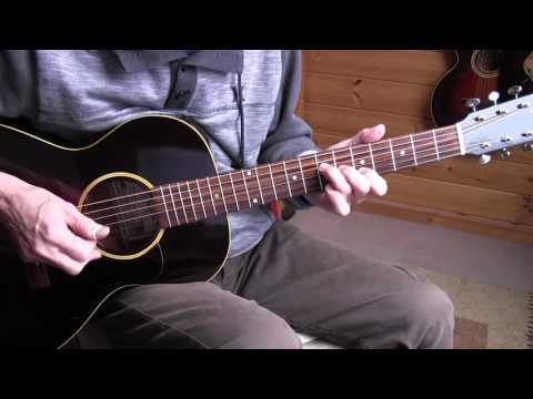 Fingerpicking Blues Lesson -Going Down Slow - Geoff Bradford/Lightnin
