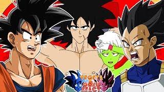 Vegeta & Goku React To Broly's Final Revenge