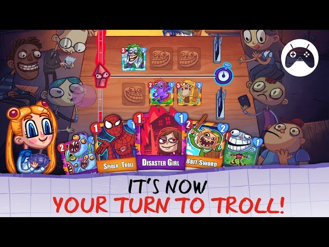 TROLL FACE CARD QUEST Android Gameplay
