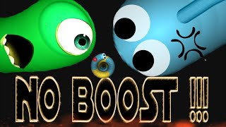 Slither.io - No Boost Challenge | Slitherio Trolling Plays