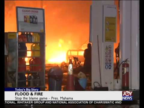 Flood & Fire - Today's Big Story on Joy News (10-6-15)