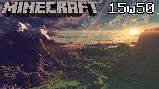 Minecraft Snapshot 15w50 aperçu 1.9 - Nouveaux sons