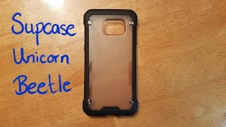 review of the supcase unicorn beetle case for the samsung galaxy s7 edge