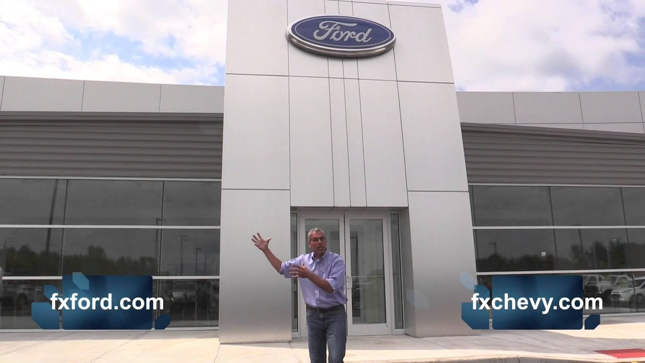 Fx Caprara Ford >> New Fx Caprara Ford Dealership Opens For Business