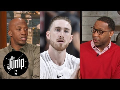 Should Gordon Hayward play this season? Chauncey Billups and Tracy McGrady debate | The Jump | ESPN