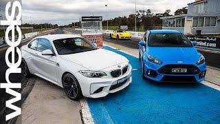 Ford Focus RS vs BMW M2 Drag Race | Wheels Plus | Wheels Australia