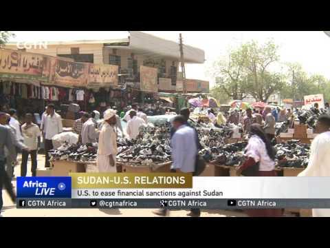 U.S. to ease financial sanctions against Sudan