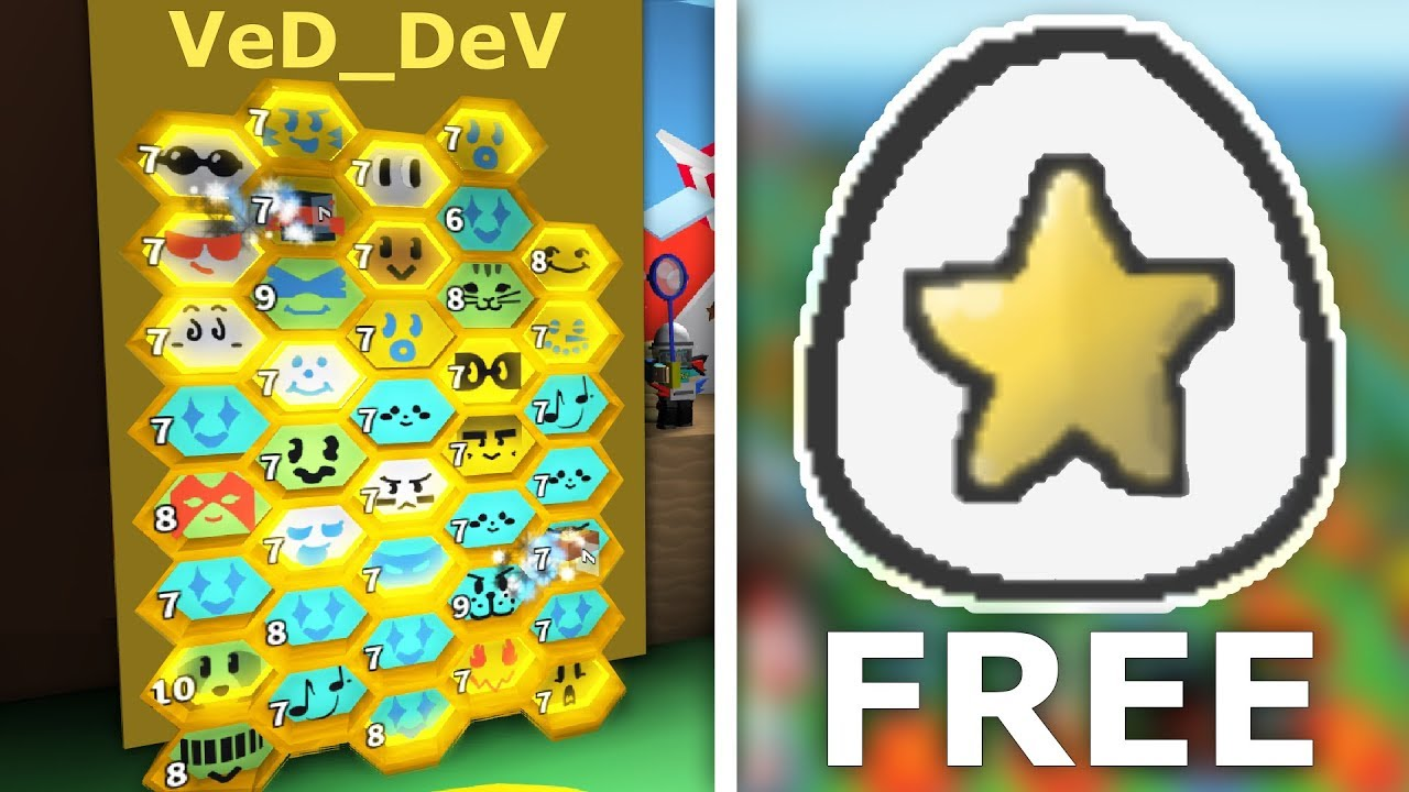 How To Get A Free Star Egg In Roblox Bee Swarm Simulator Easy