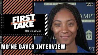 Mo'ne Davis on life after LLWS & softball at Hampton University | First Take