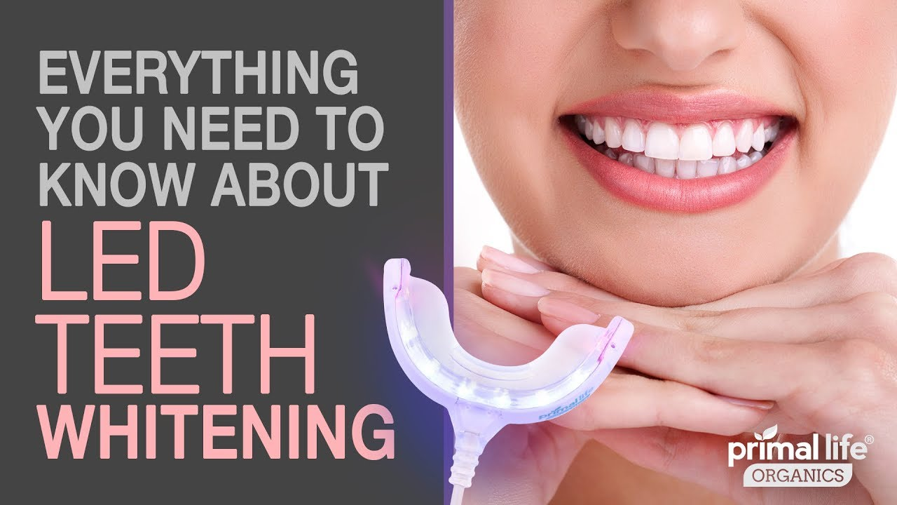 Everything You Need To Know About Led Teeth Whitening Video