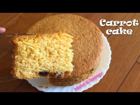 Best Moist Carrot Cake Recipe | Healthy Homemade Carrot Cake | Ultimate Carrot Cake