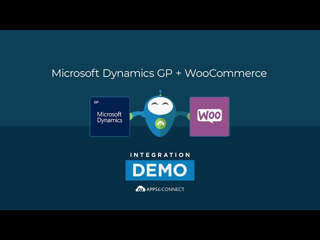 Integrate Microsoft Dynamics GP and WooCommerce | APPSeCONNECT