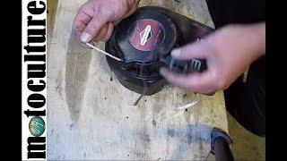 reparation très simple d un lanceur de tondeuse