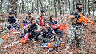 LTT Nerf War : SEAL X Warriors Nerf Guns Frolic Combat Attack Criminal Group Suicide Squad