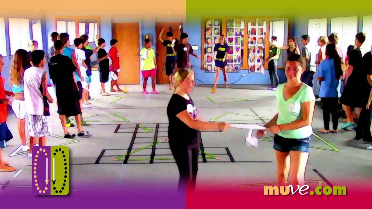 Spontaneous Dance Activity Game for teens from Winners Camp in ...