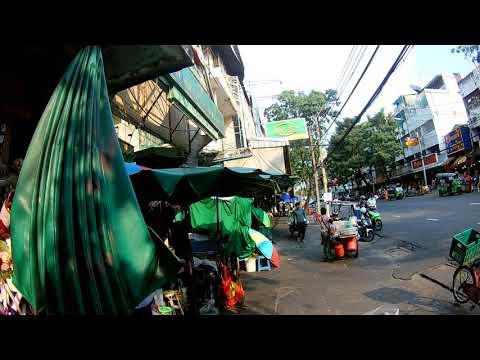 Walking in Bangkok, Thailand - Thai Flower Market (Pak Klong Talad) Series Part 2