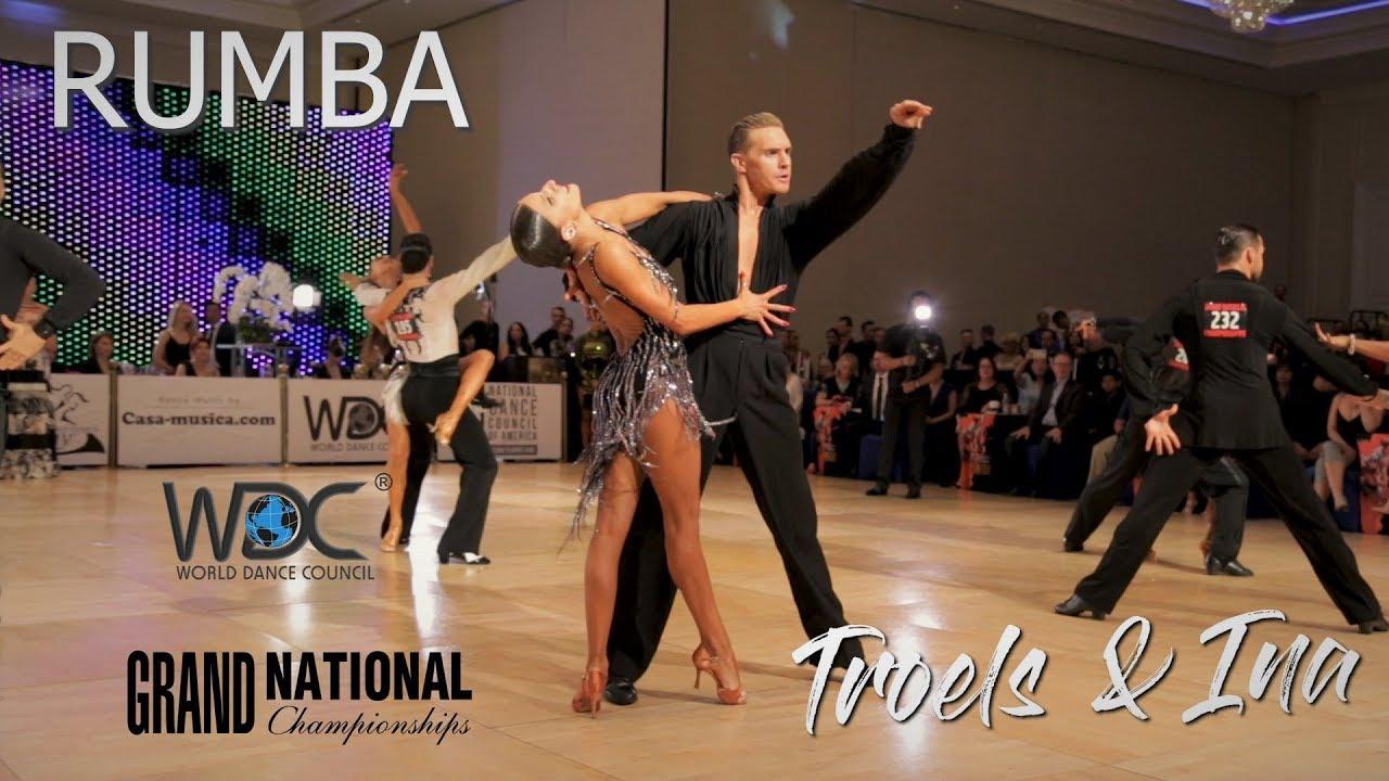 Troels Bager - Ina Jeliazkova I Rumba I WDC World Pro Latin 2019