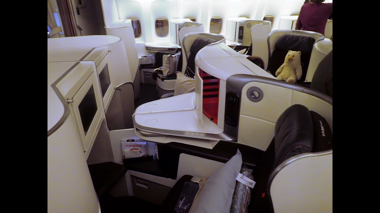 Review Air France 777 300er Business Cl