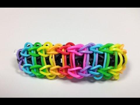 Bandaloom: How to Make a Ladder Bracelet.