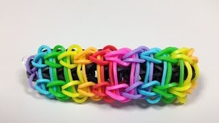 Repeat youtube video Bandaloom: How to Make a Ladder Bracelet.