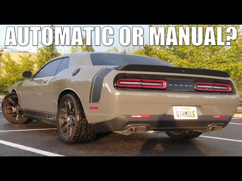 8 REASONS WHY YOU SHOULD GET AN AUTOMATIC TRANSMISSION IN YOUR DODGE CHALLENGER