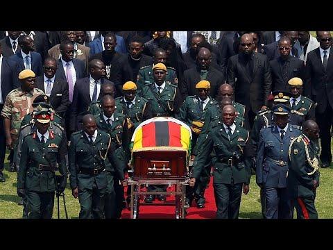 يورو نيوز:جنازة موغابي.. زعماءُ أجانب ومؤيّدون في وداع رئيسٍ مثيرٍ للجدل…