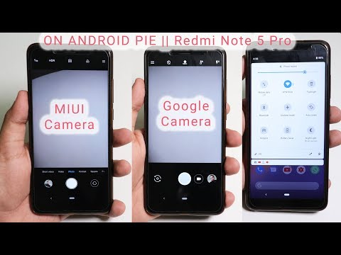 How To Get GCam + MIUI Camera On Android Pie 😍🔥 || Redmi Note 5