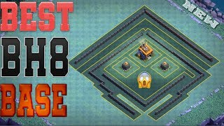 Clash Of Clans Best Builder Hall 8 [BH8] Base | You Can Push Your Trophy Easily - #4