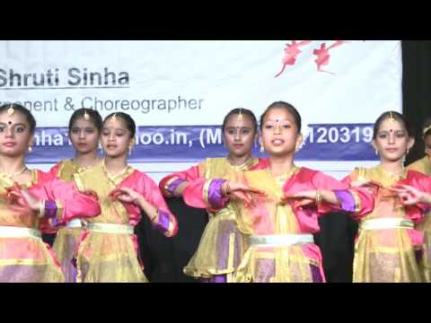 Kathak  By Students of Shruti Sinha  Performing Arts - 2015