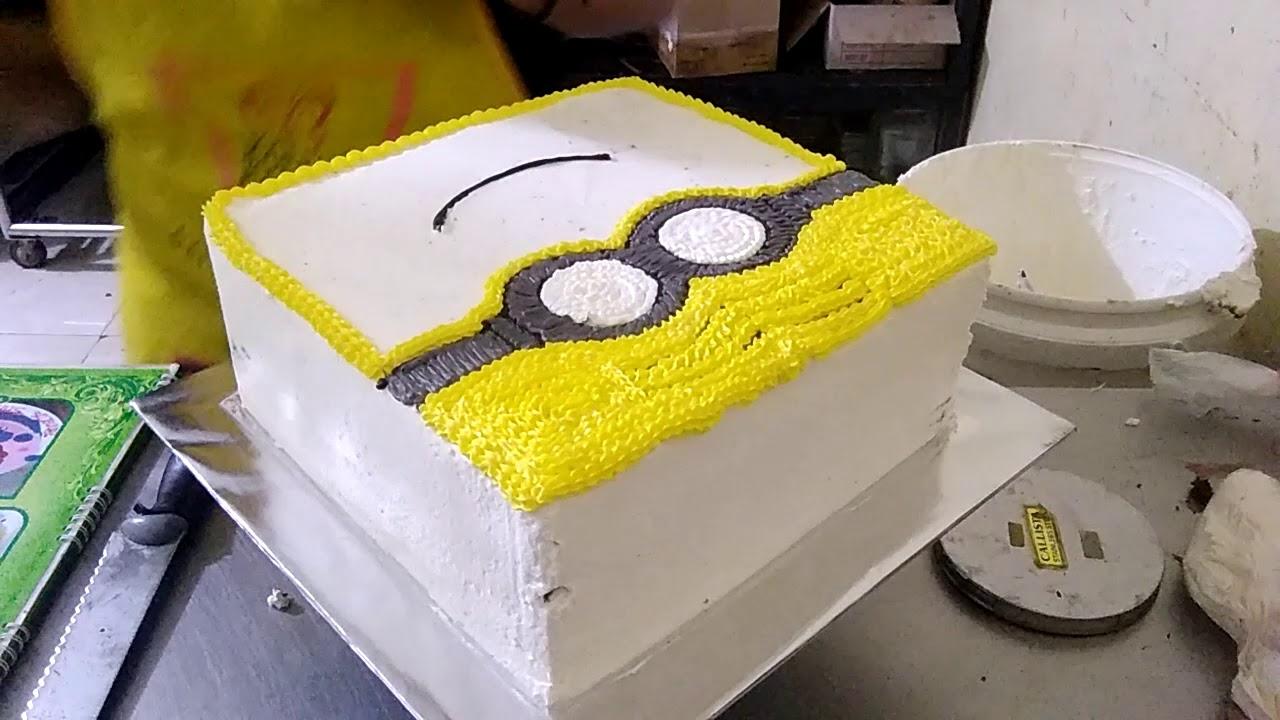 Cara Membuat Kue Ulang Tahun Minion