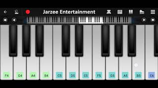 Butterfly - Jass Manak Piano Tutorial with Notes | Jarzee Entertainment