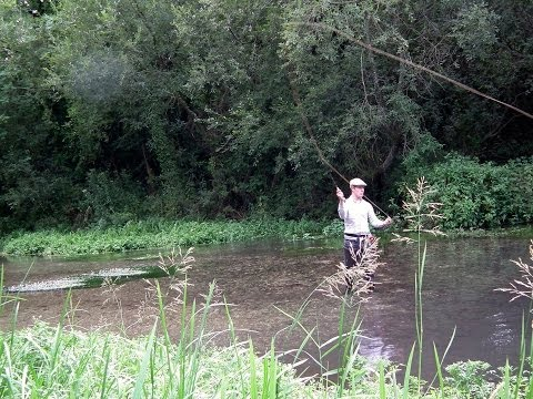 Fishing the Lambourn and Test a Mim Scala Movie
