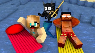 Monster School : Swimming Challenge - Funny Minecraft Animation