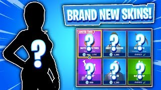 BRAND NEW FEATURED SKINS! Daily Item Shop In Fortnite: Battle Royale! (Skin Reset #190)