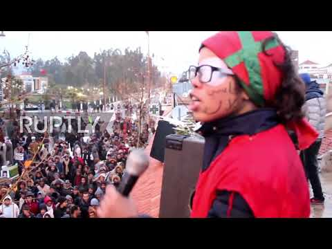 Morocco: Thousands protest against coal mining deaths in Jerada