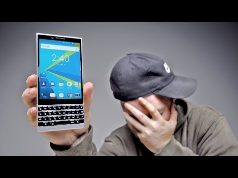 I'm Switching To The Blackberry KEY2...
