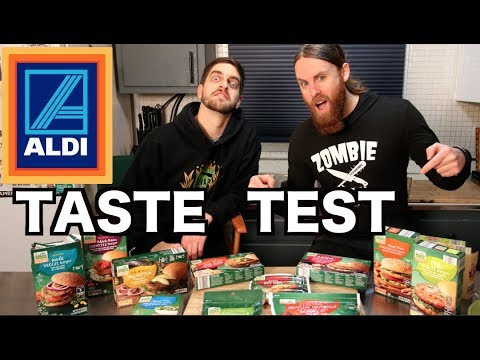Taste Testing NEW VEGAN Products From ALDI