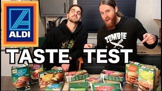 Taste Testing NEW VEGAN Products From ALDI