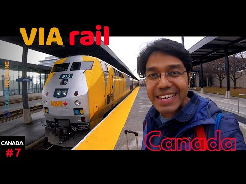 Toronto To Ottawa: VIA Rail Canada