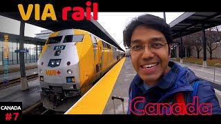 Toronto to Ottawa: VIA Rail Canada
