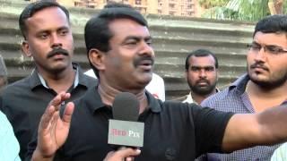 Chennai Corporation Stops Nam Thamizhar Seeman Helping The Flood Victims Of Chennai - Must Watch