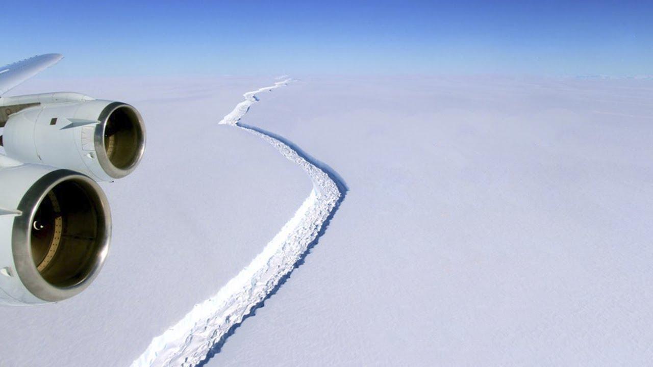 Ученые выяснили, почему гигантская ТРЕЩИНА в Антарктиде растет так быстро