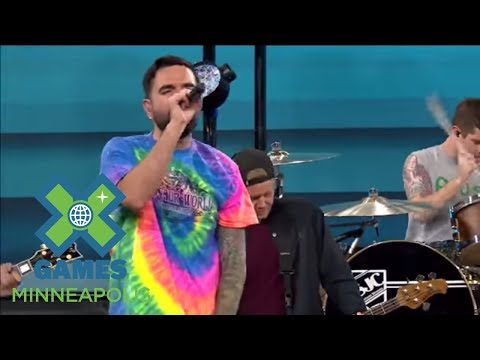 A Day To Remember:  on ESPN  X Games Minneapolis 2017