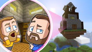 SkyBase Build Off Challenge! | Minecraft